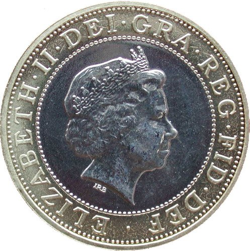2 Pounds - Elizabeth II (4th portrait; Technology ...