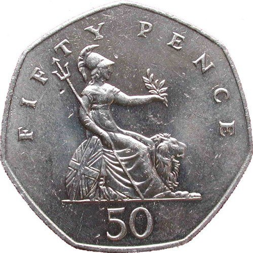Fifty Pence 1969-1997 Large Sized | Check Your Change