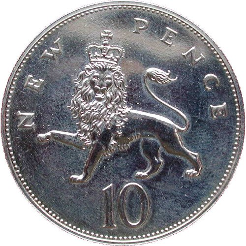 Old Size 10p Coins Check Your Change
