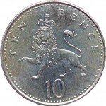10p coin reverse type 3