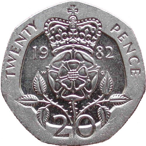 Image result for 20p coin