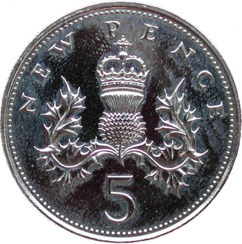 Old Sized 5p Coins | Check Your Change
