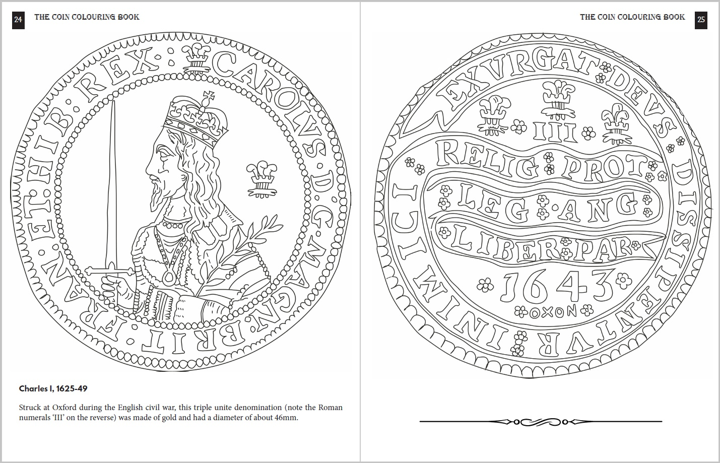 order the coin colouring book