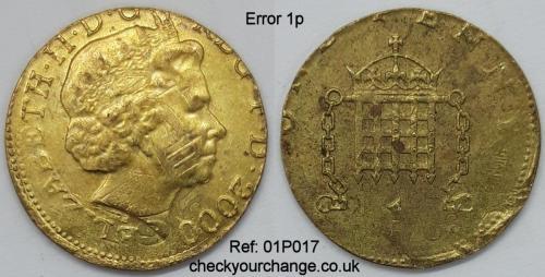 1p Error, Ref: 01P017