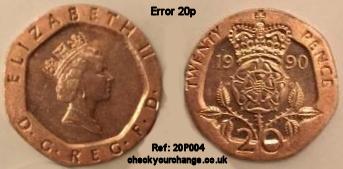 20p Error, Ref: 20P004