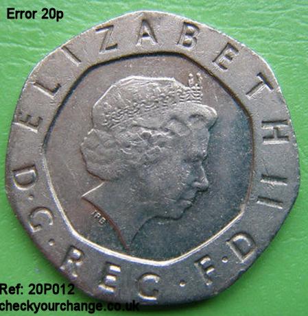20p Error, Ref: 20P012