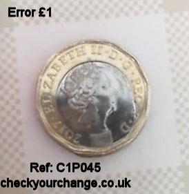 £1 Error, Ref: C1P045