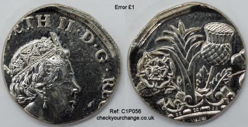 £1 Error, Ref: C1P056