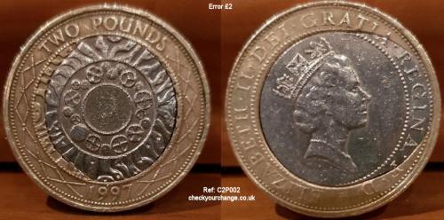 £2 Error, Ref: C2P002