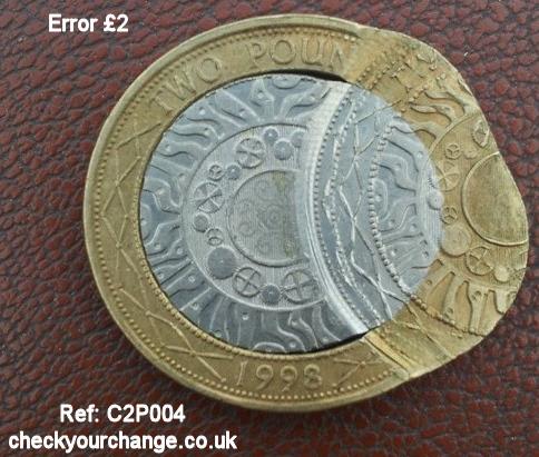 £2 Error, Ref: C2P004