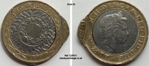 £2 Error, Ref: C2P011
