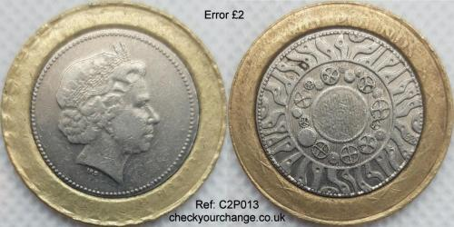 £2 Error, Ref: C2P013