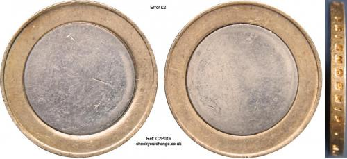 £2 Error, Ref: C2P019