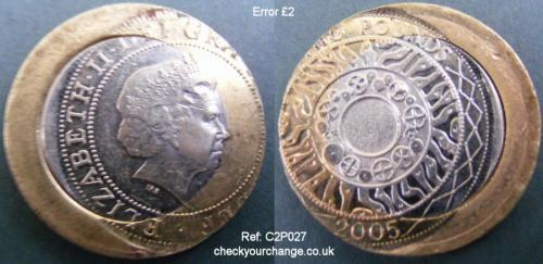 £2 Error, Ref: C2P027