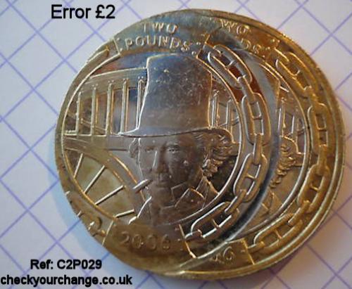 £2 Error, Ref: C2P029