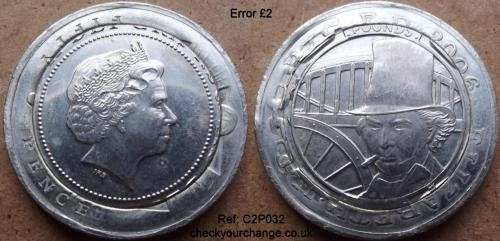 £2 Error, Ref: C2P032