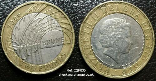 £2 Error, Ref: C2P035