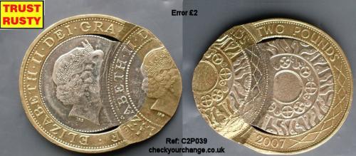 £2 Error, Ref: C2P039