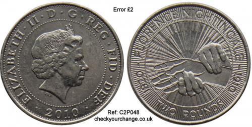 £2 Error, Ref: C2P048