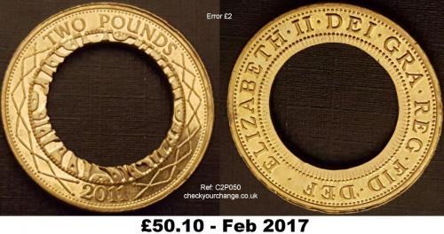 £2 Error, Ref: C2P050