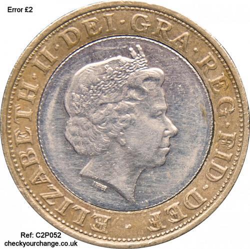£2 Error, Ref: C2P052