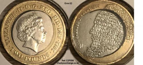 £2 Error, Ref: C2P056