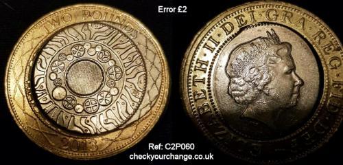 £2 Error, Ref: C2P060
