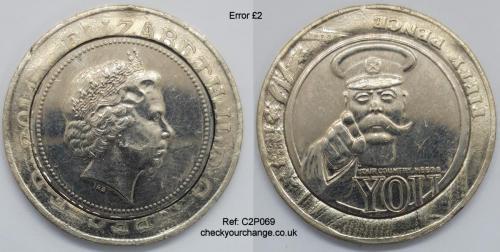 £2 Error, Ref: C2P069