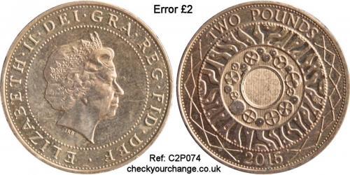 £2 Error, Ref: C2P074