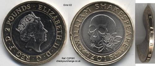 £2 Error, Ref: C2P081