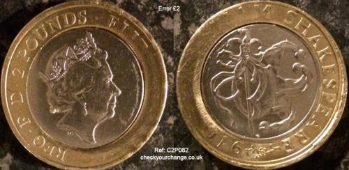 £2 Error, Ref: C2P082
