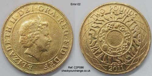 £2 Error, Ref: C2P086