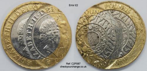£2 Error, Ref: C2P087