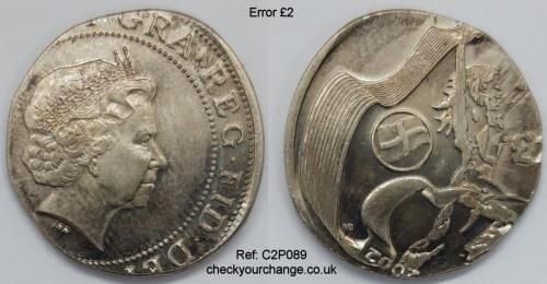 £2 Error, Ref: C2P089