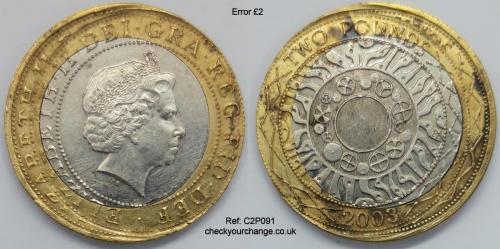 £2 Error, Ref: C2P091