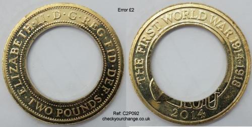 £2 Error, Ref: C2P092